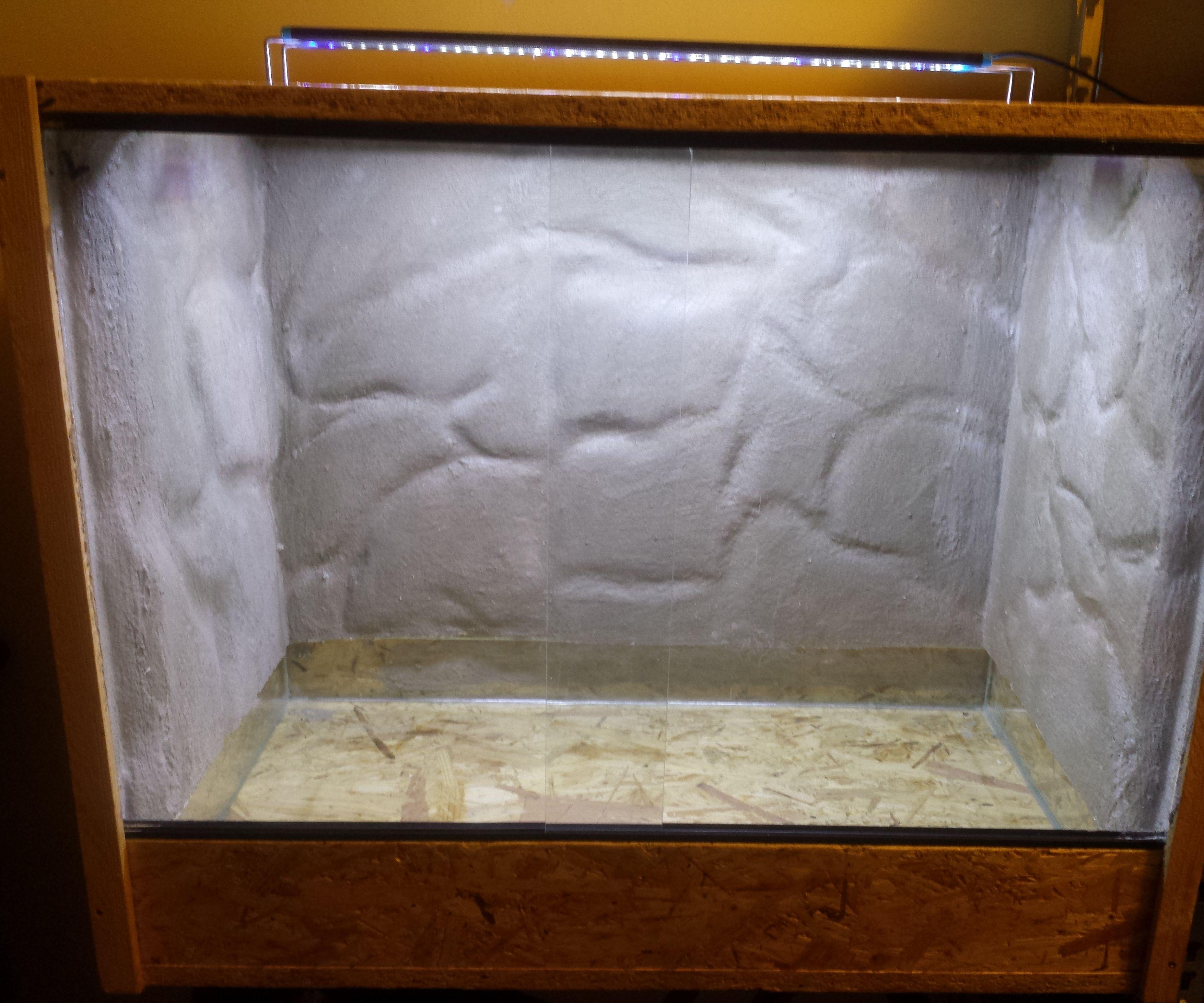 Cheap terrarium or aquarium Background