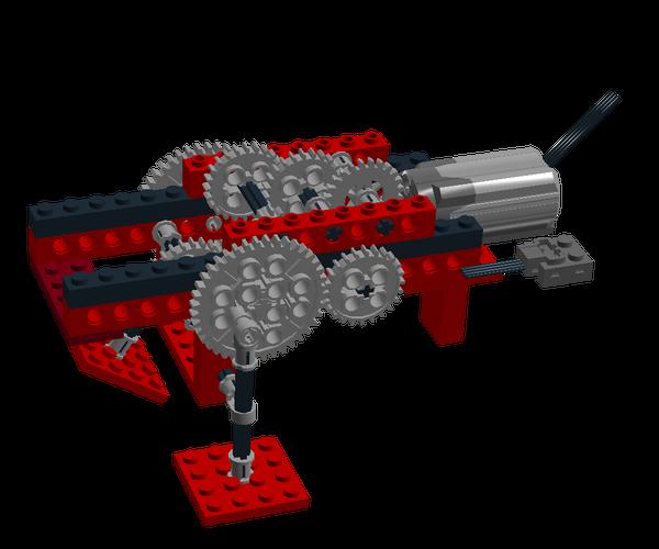 Simple Lego Two-legged Walker