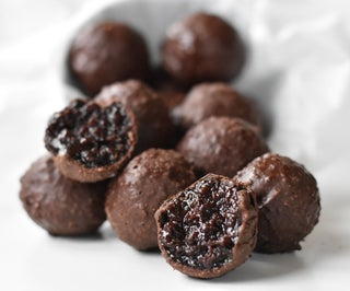 Salted Caramel Truffles (Using Leftover Chocolate Cake!)