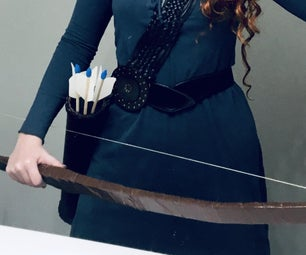 Prop Quiver, Bow, and Arrows