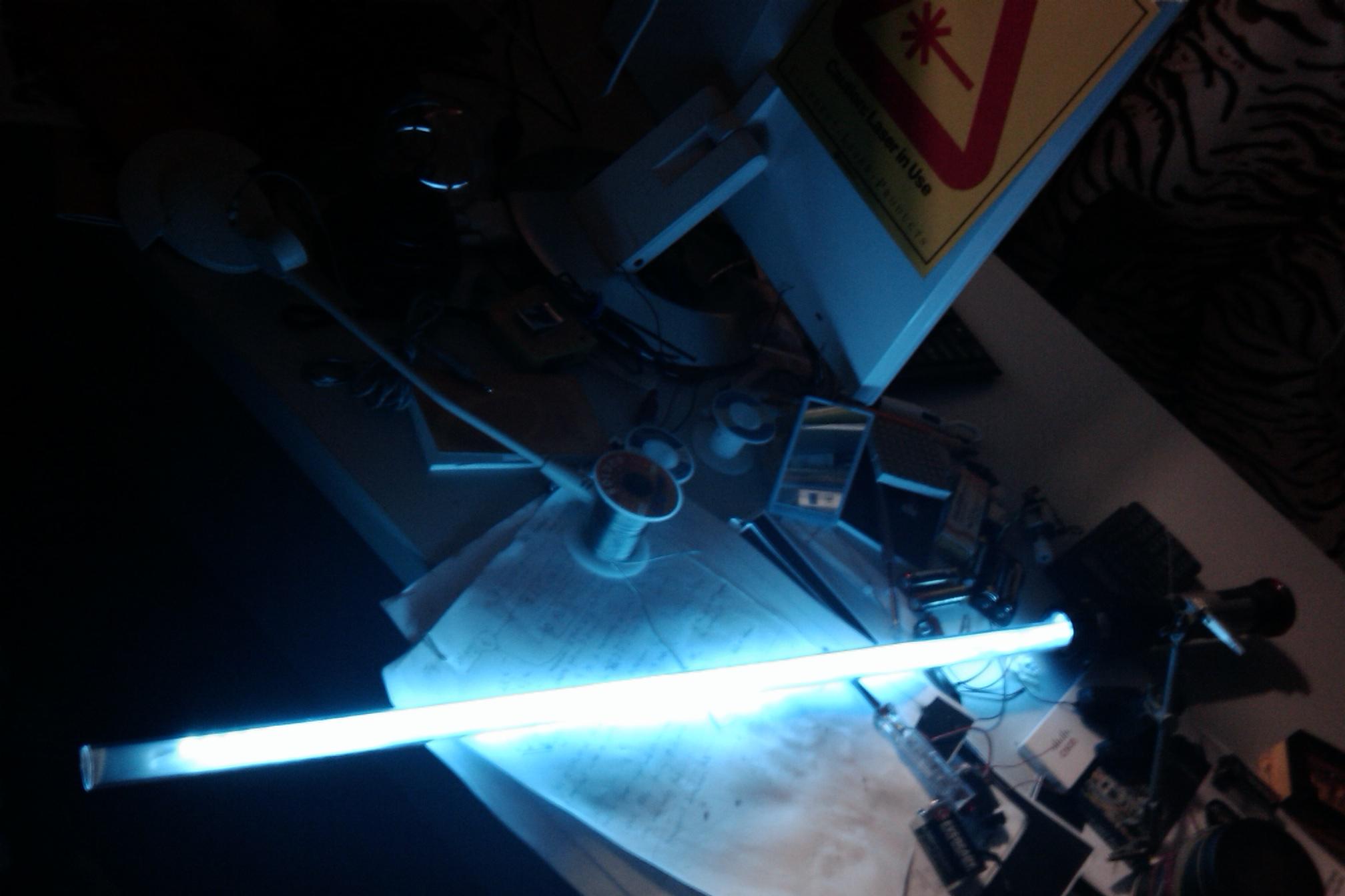DIY light saber for