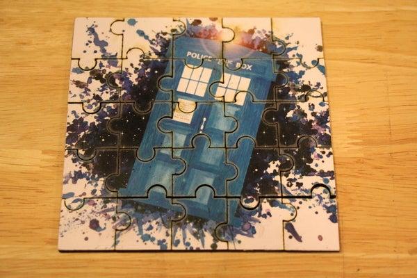 Laser Cut Puzzle