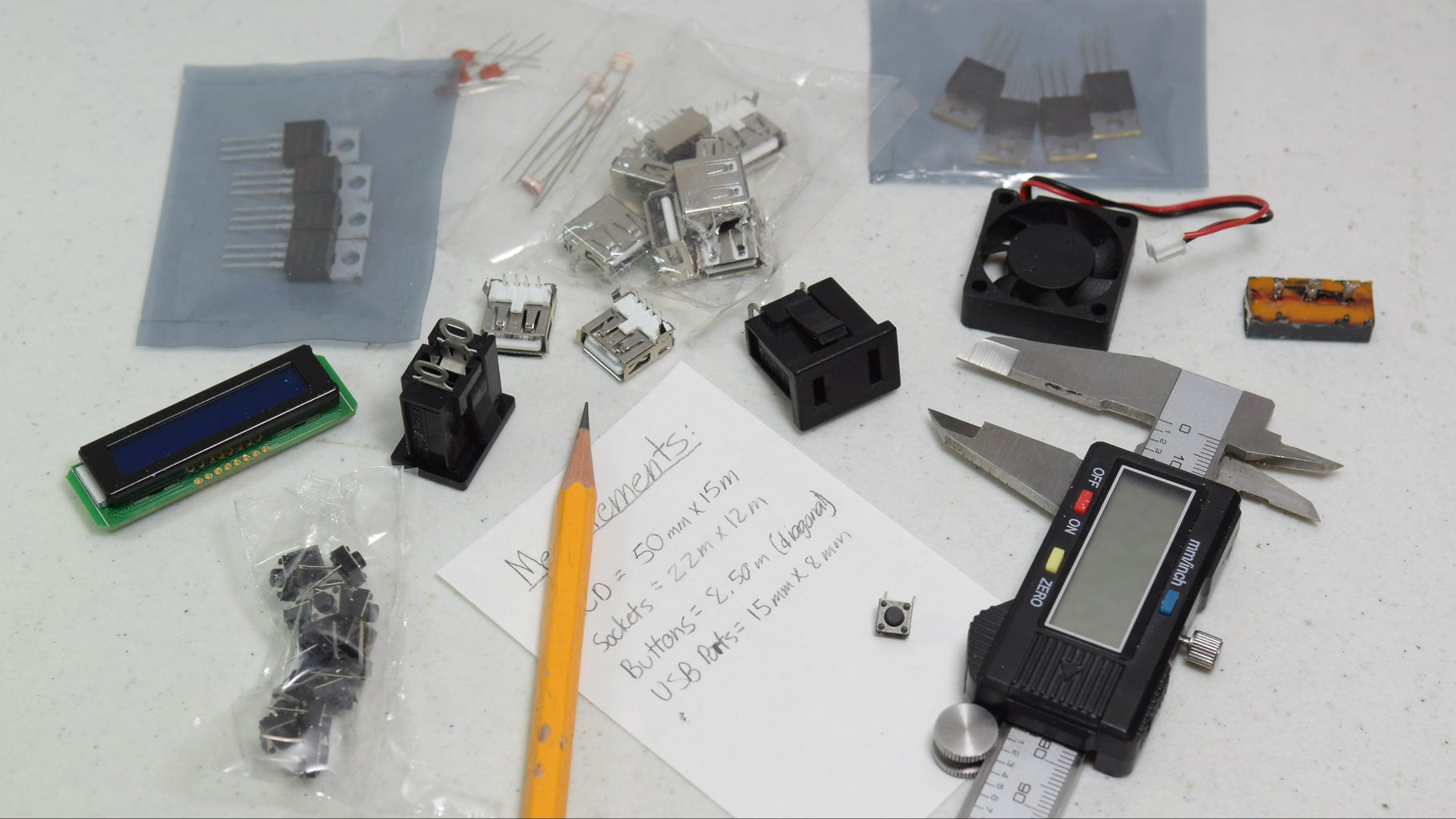 Measure the Components