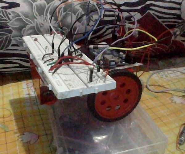 Arduino Light Controlled Bot
