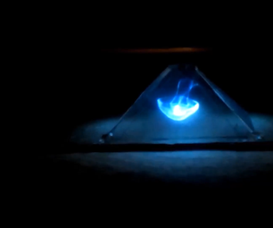 DIY 3D Hologram Projector Simple and Easy