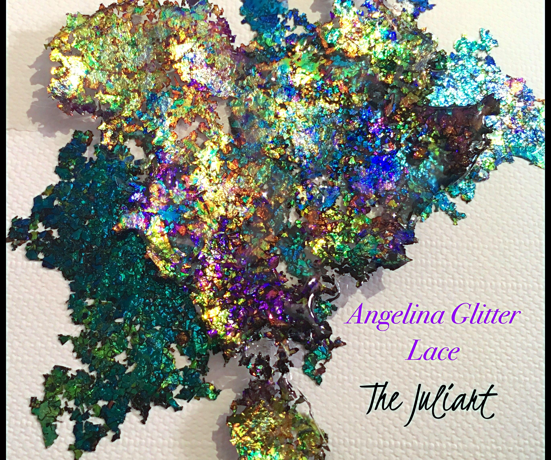 Glitter Lace W/ Angelina Film