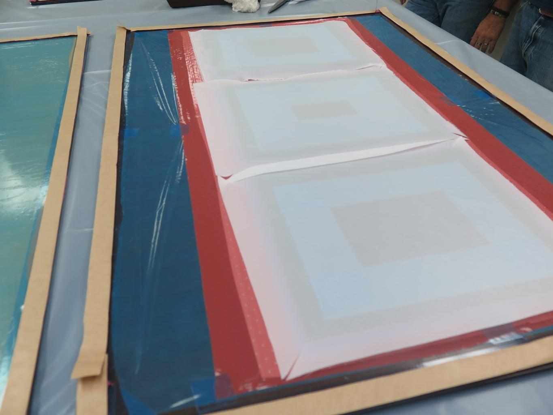Mold Core Prep - White Peel Ply