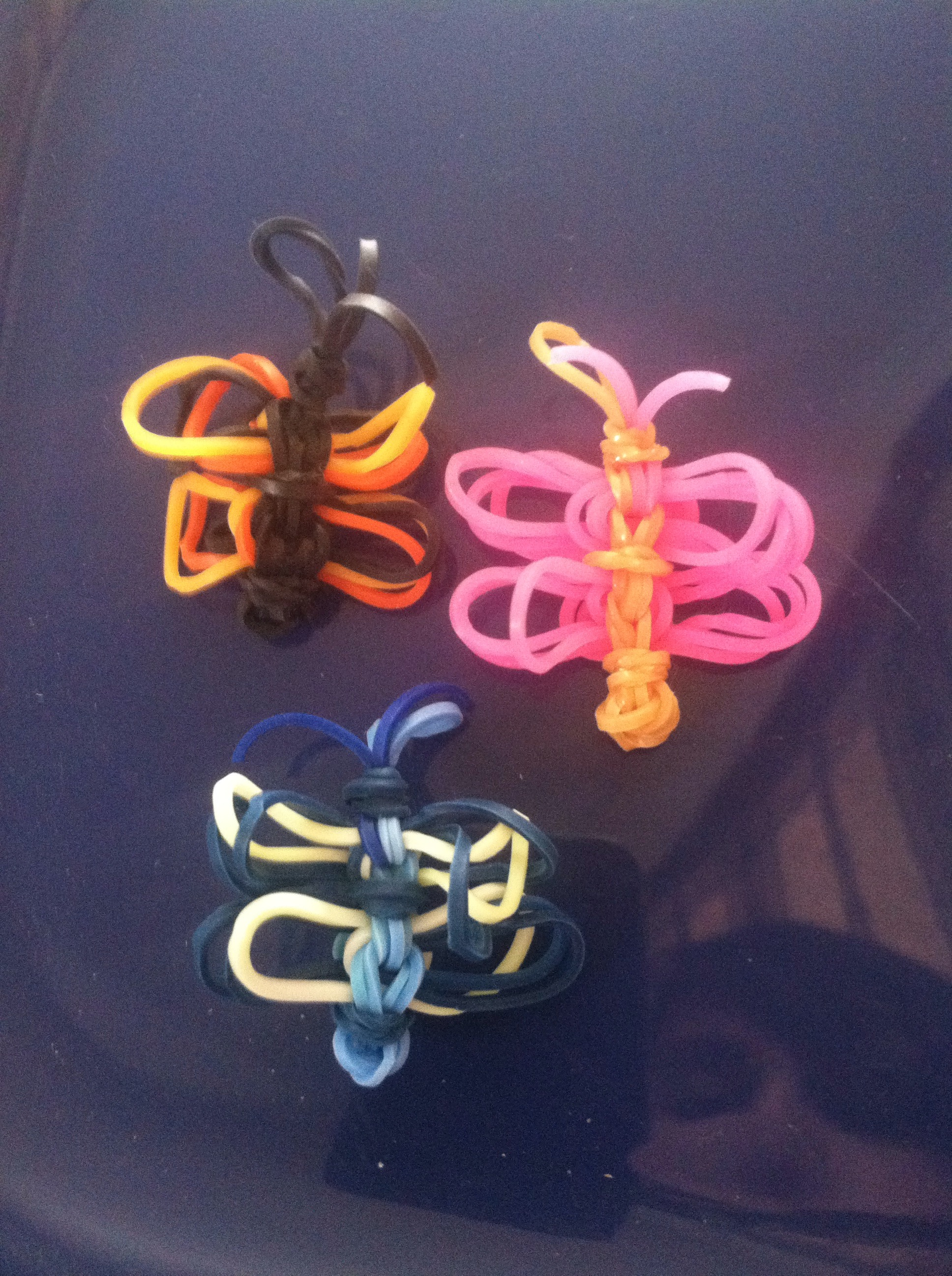 Rainbow Loom Butterfly Cha