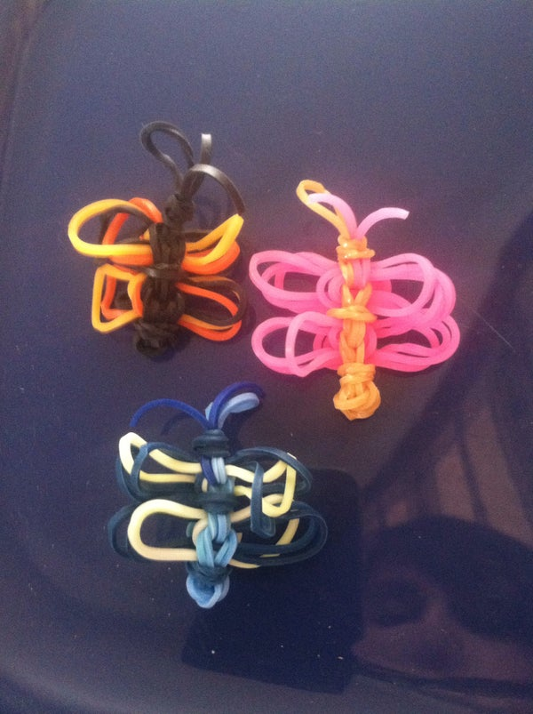Rainbow Loom Butterfly Cha