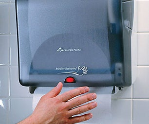 Getting More Paper Towel From That Automatic Paper Towel Dispenser