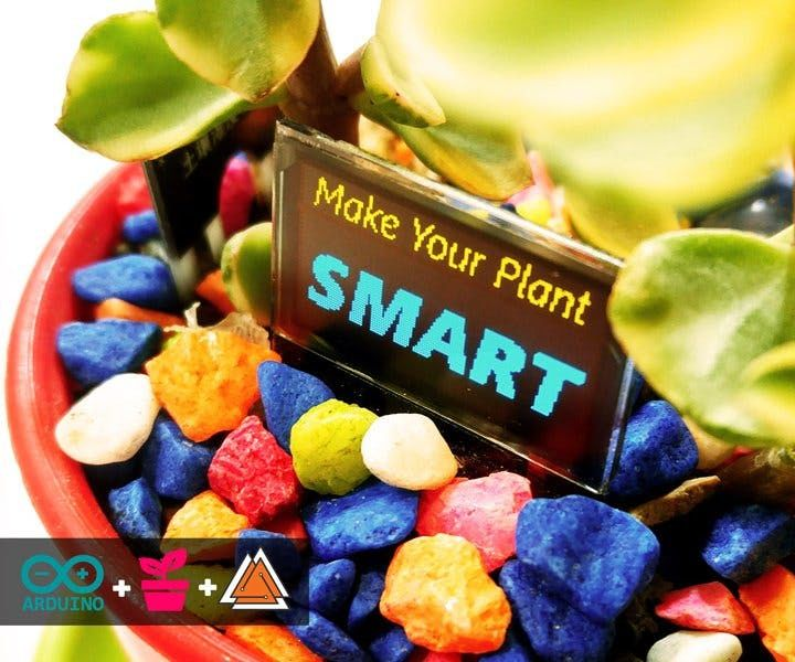 Make Your Plant SMART! (By Arduino)