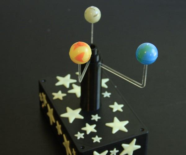 Bluetooth-Enabled Planetarium/Orrery