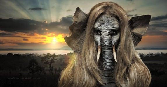 Jungle Book Elephant - SFX Makeup Tutorial