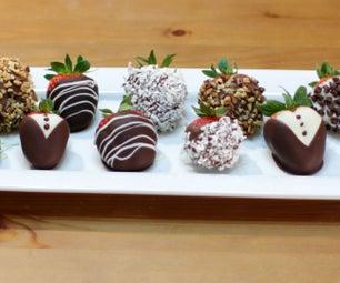 Easy Amazing Chocolate Covered Strawberries