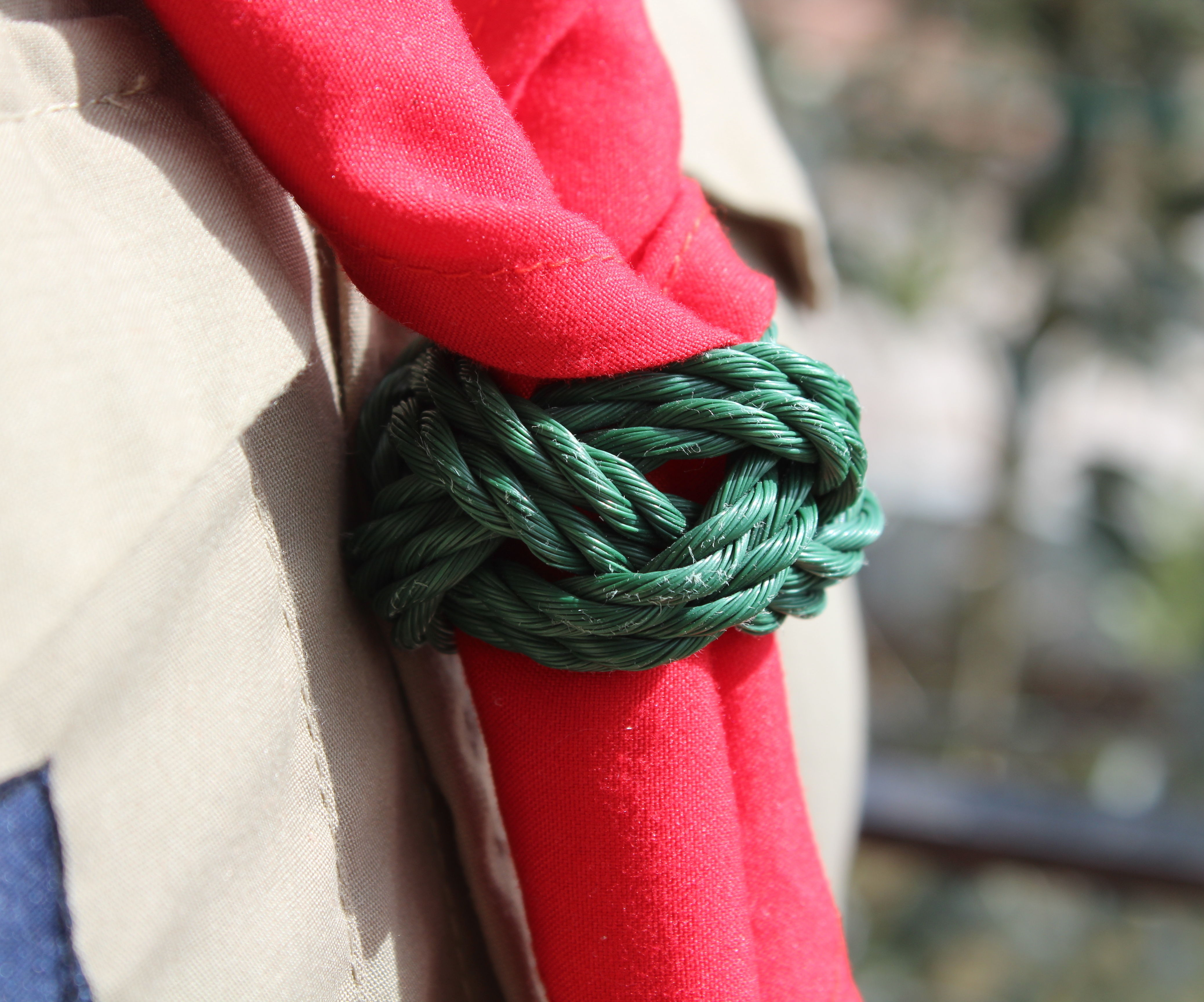 "Scouts Woggle ""Turk's Head Knot"""