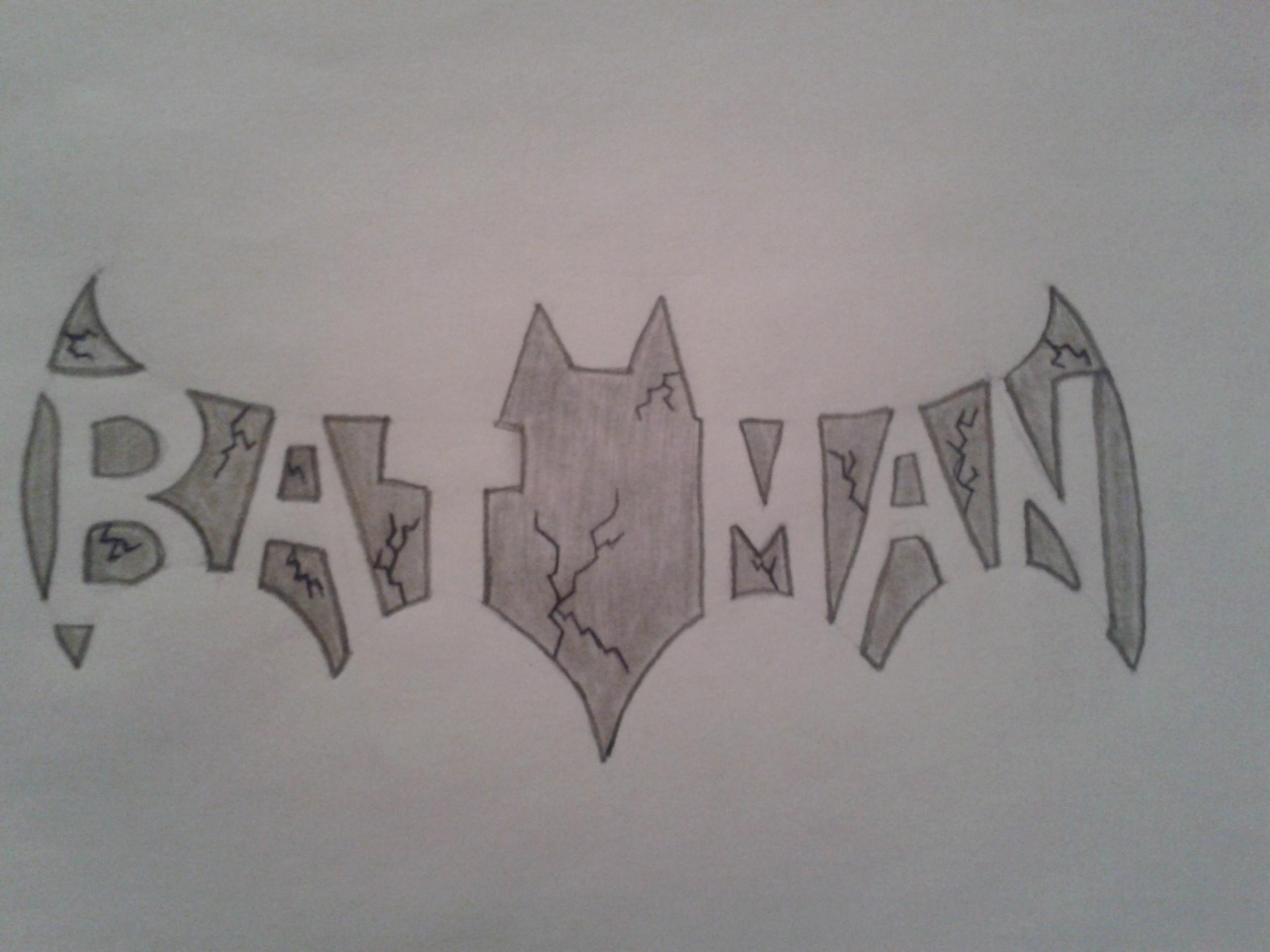 How to draw: A cool Batman symbol