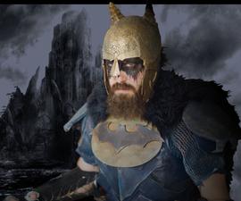 "Viking Batman Mashup Costume ""Bat-king"""