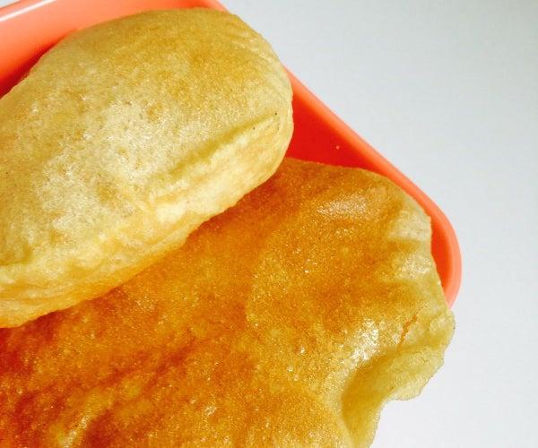 Poori - Deep Fried Indian Bread