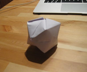Origami: Make a Balloon Out of Paper.