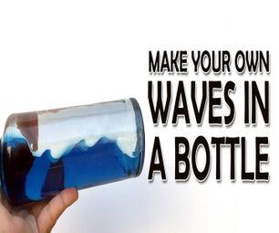 Ocean Waves in a Bottle (Video)