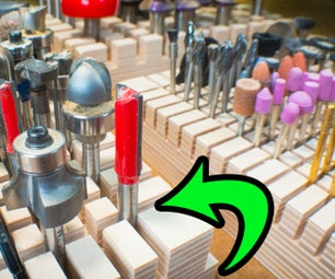 Wicked Fast Dremel & Router Bit Organizers Using Dadoes (Instead of Holes)