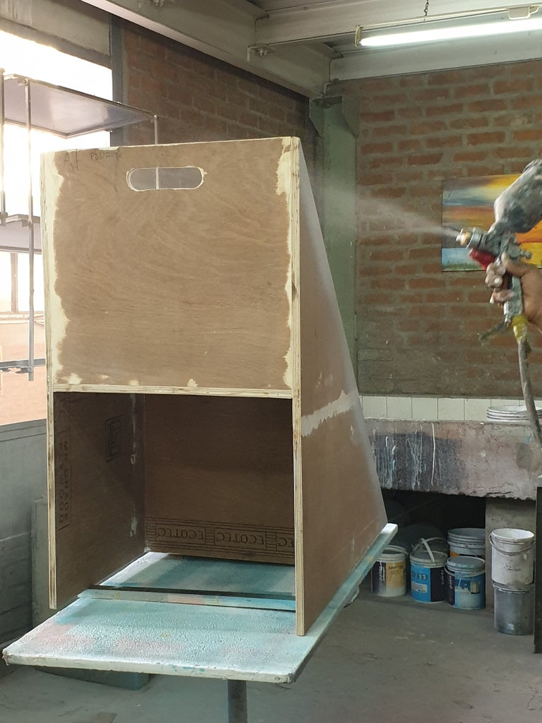 Application of Primer and Paint
