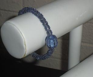 Captive Marble Beaded Bracelet