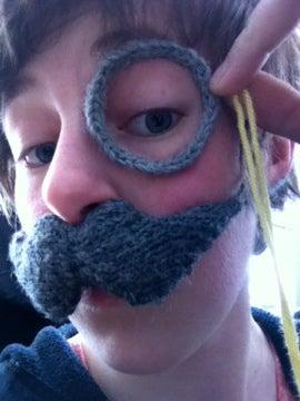 Crocheted Monocle