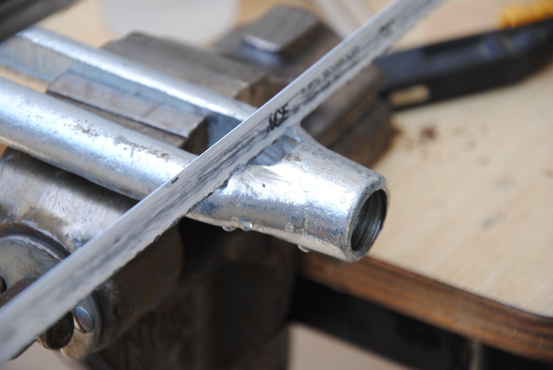 Cut the Threaded Part Off the Turnbuckle