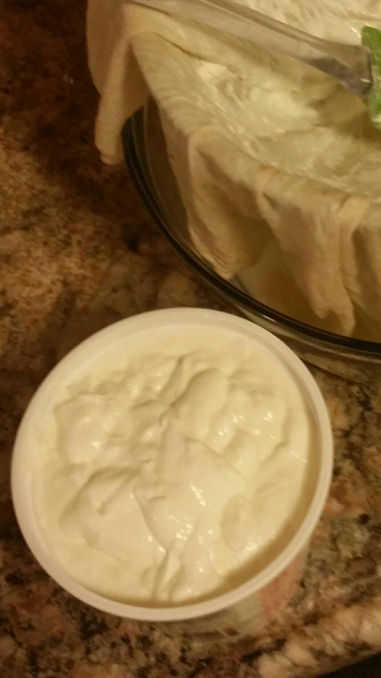 Sous Vide Yogurt/Greek Yogurt