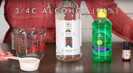 Recipe #2: Grain Alcohol