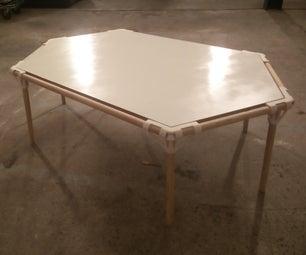 Screwless Hexagon Table Using 3D Printing