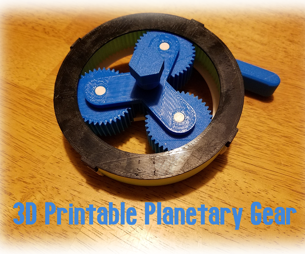 3D Printable Planetary Gear
