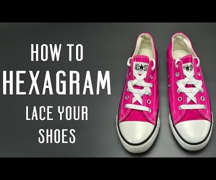 How to Hexagram Lace Your Shoes