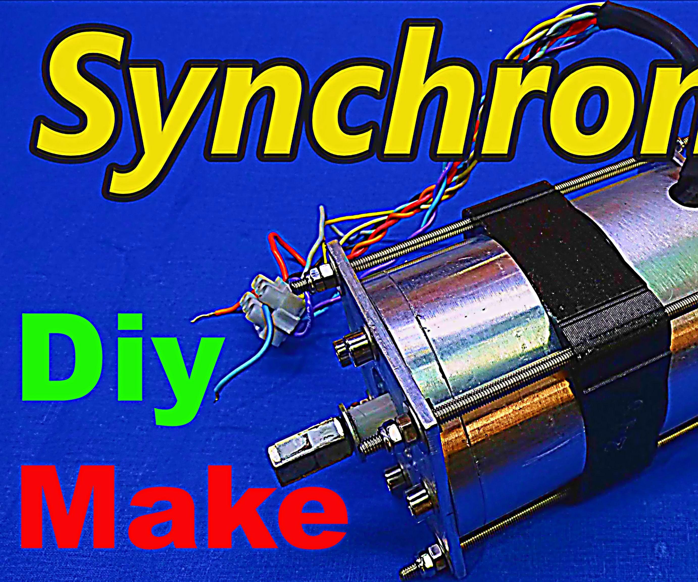 MAKE PERMANENT MAGNET SYNCHRONOUS MOTOR-GENERATOR