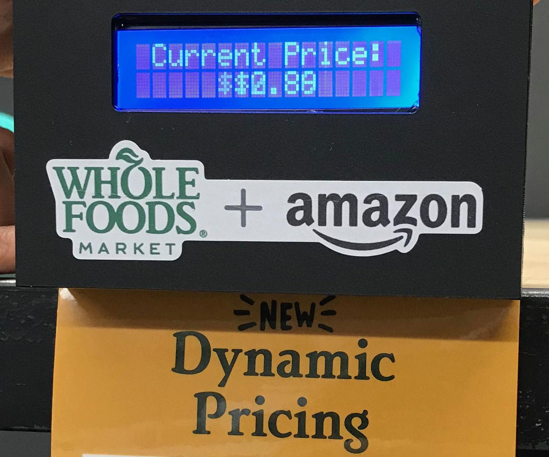 Fake Dynamic Price Tag