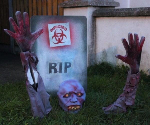 The Waking Dead Zombie!