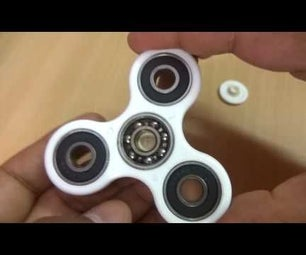 Motorized Fidget Spinner