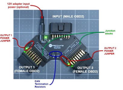 Using an OBD2 Breakout to Sniff, Re-route, and More