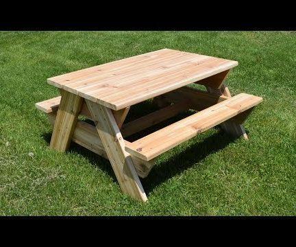 Cedar Kids' Picnic Table