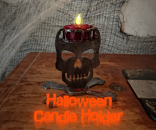 Spooky Candle Holder