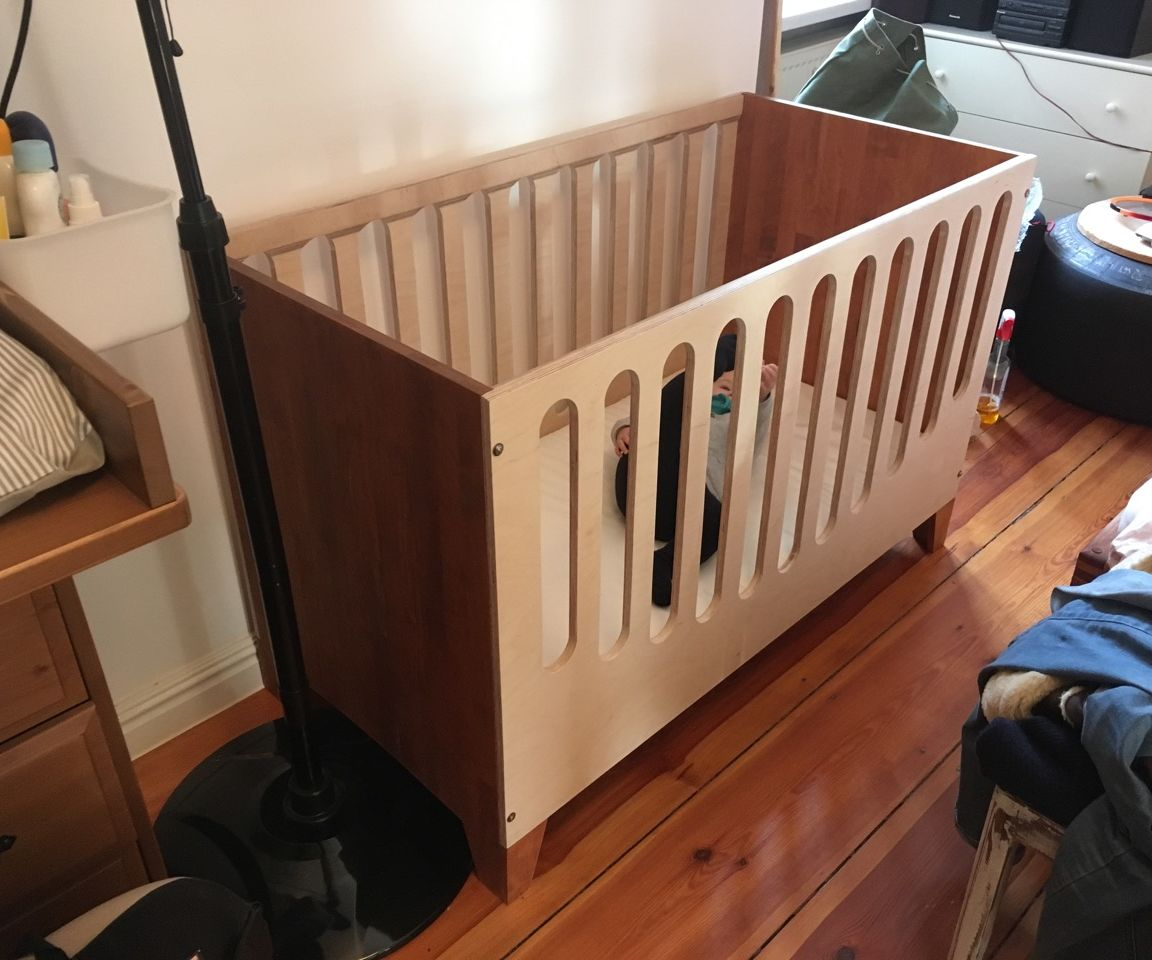 Baby Bed Crib 9 Steps With Pictures Instructables