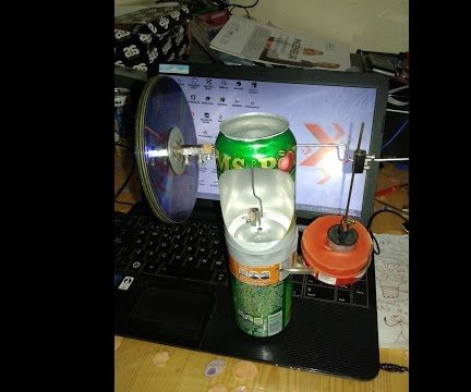 Stirling Engine homemade