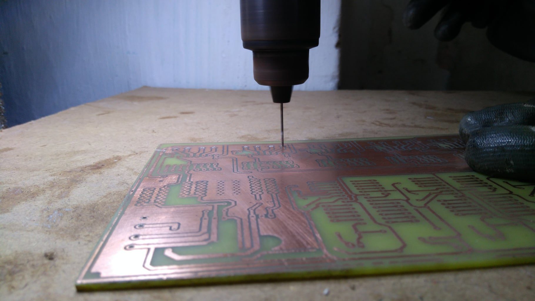 Drilling Process & Soldering Process