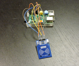 RFID Scanner With Raspberry Pi