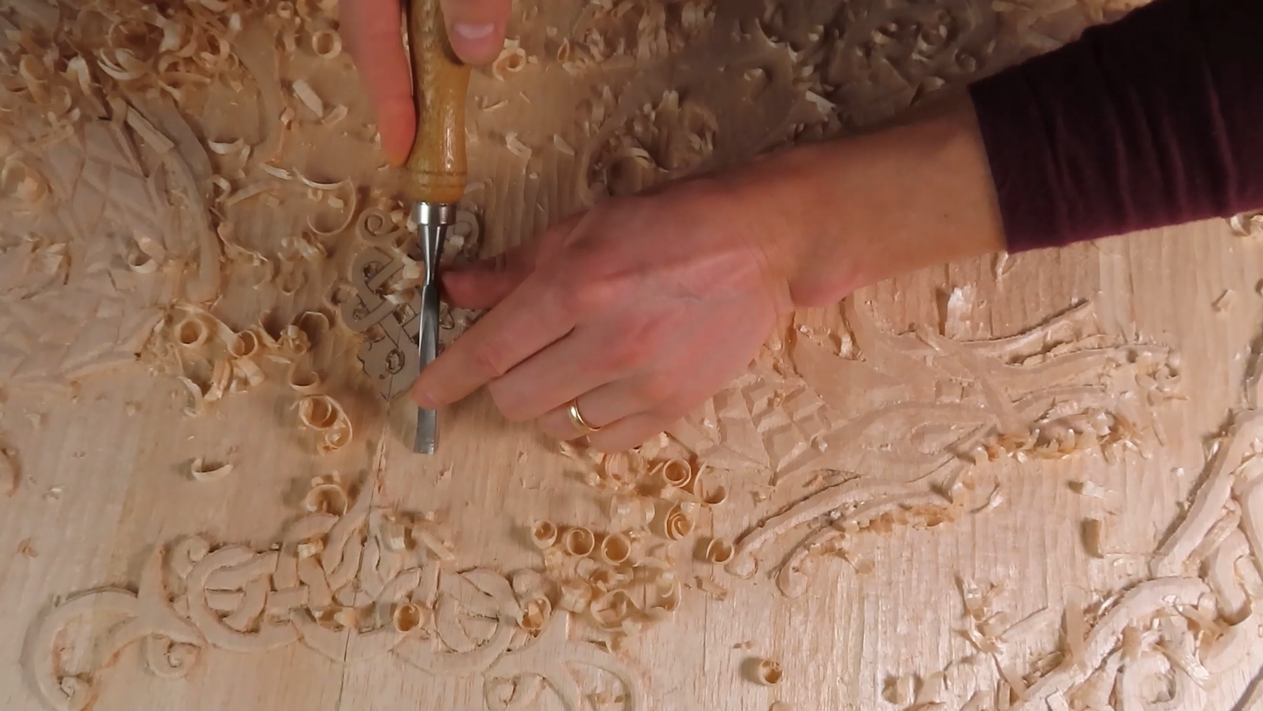 Let's Start Carving the Wood!