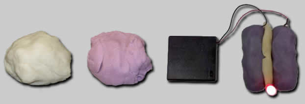 How to make conductive play dough.