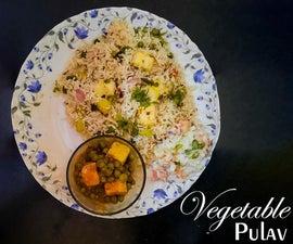 One Pot Vegetable Paneer Pulao