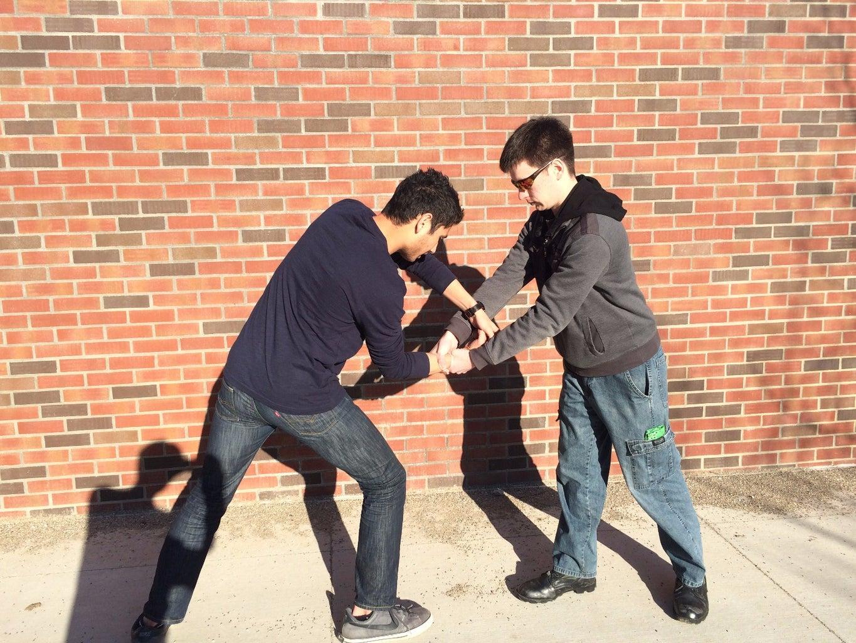Twist Fist Up and Grab It