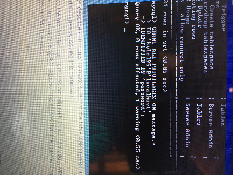 Step 2 - Set Up Database